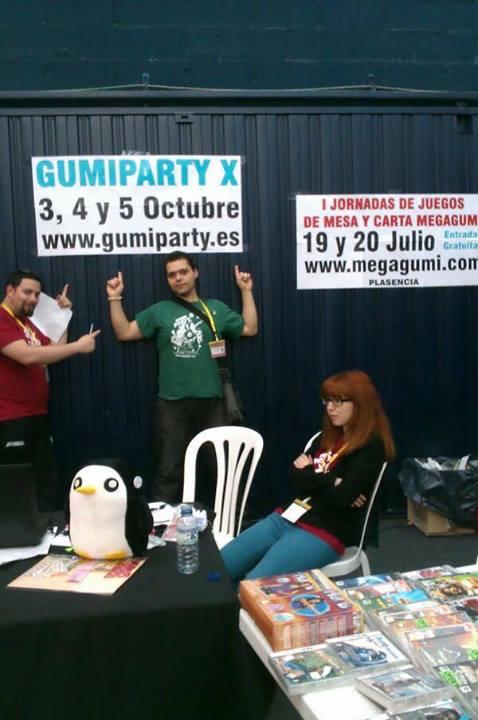 I Jornadas de juegos de mesa y cartas Megagumi y Gumiparty X