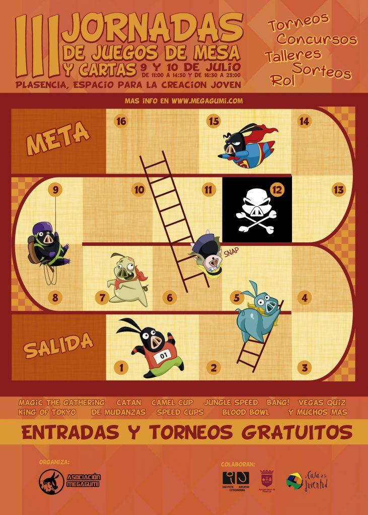 Cartel Juegos de Mesa 2016