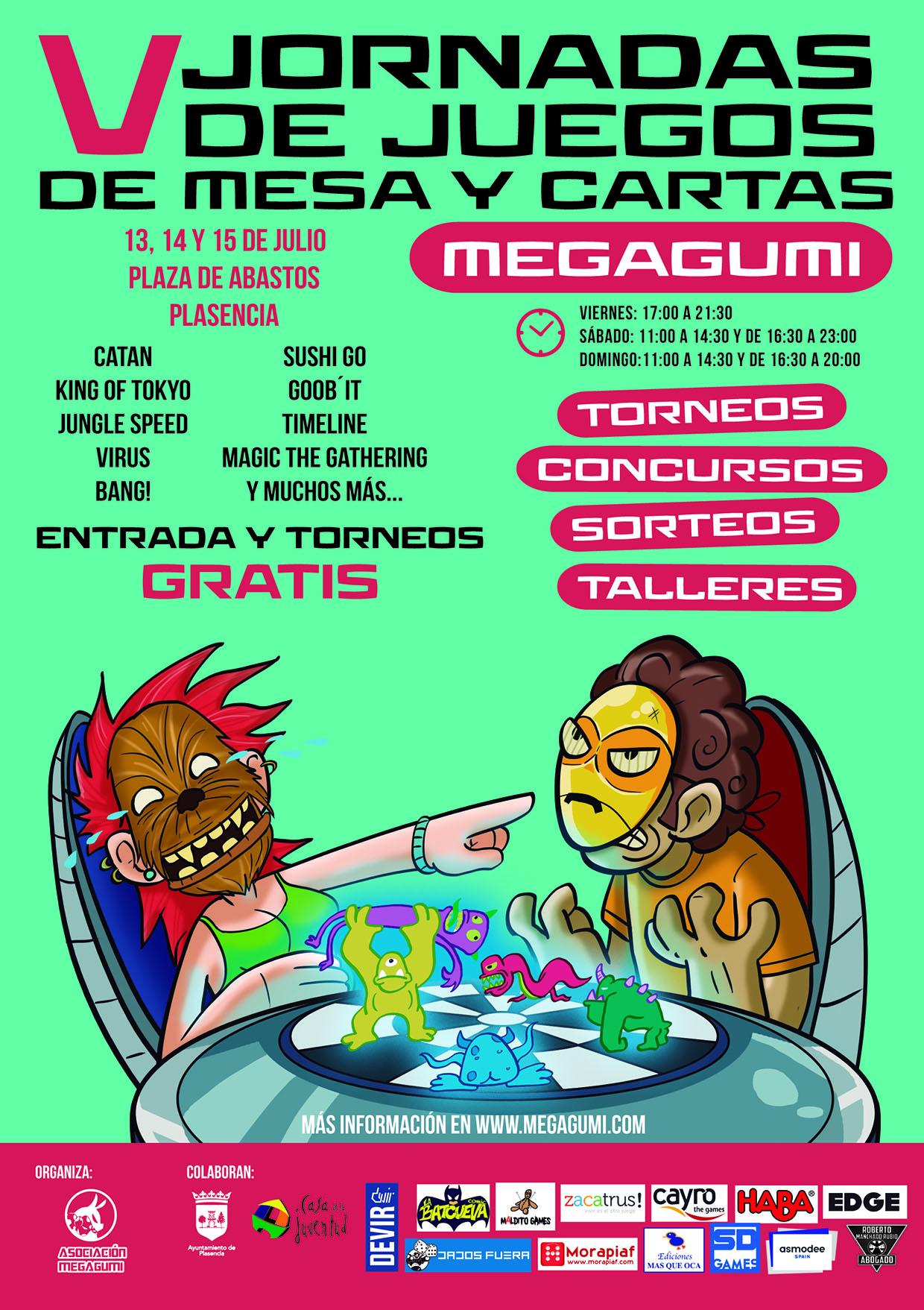 V Jornadas De Juegos De Mesa Y Cartas Megagumi Asociacion Mega Gumi