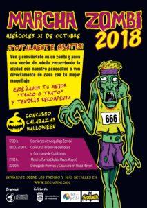 Marcha Zombi 2018 Miércoles 31 de Octubre