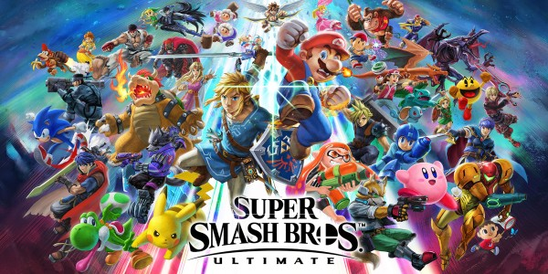This image has an empty alt attribute; its file name is H2x1_NSwitch_SuperSmashBrosUltimate_02_bannerXS.jpg