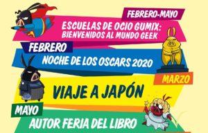 Calendario de actividades Megagumi 2020