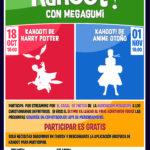 ACTIVIDADES EN EL CANAL DE TWITCH DE MEGAGUMI: KAHOOT! DE HARRY POTTER EL 18 DE OCTUBRE Y DE ANIME EL 1 DE NOVIEMBRE