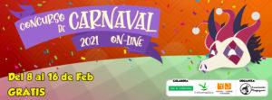 Ganadores Concurso Carnaval 2021 Online