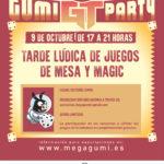 TARDE LÚDICA DE JUEGOS DE MESA Y MAGIC – SÁBADO 9 DE OCTUBRE 2020