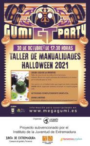GUMIPARTY GT: TALLER DE MANUALIDADES DE HALLOWEEN 2021