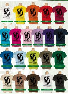Concurso de diseño de camiseta conmemorativa Gumiparty XIII