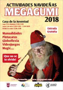 ACTIVIDADES NAVIDEÑAS MEGAGUMI PARA NIÑOS 2018