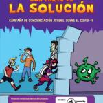 """CAMPAÑA DE CONCIENCIACIÓN JUVENIL SOBRE EL COVID-19:  """"LOS JÓVENES SON PARTE DE LA SOLUCIÓN"""""""